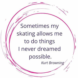Lovely Figure skating quote by Kurt Browning. Sometimes my skating allows me to do things I never dreamed possible.