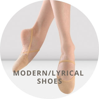 Collection of lyrical & modern shoes for dancers. Sudbury Ontario Canada.