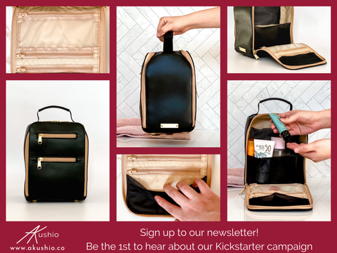 on-the-go antimicrobial toiletry organizer 1
