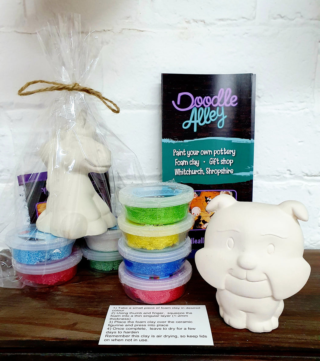 POSTED Foam Clay Kit - bulldog