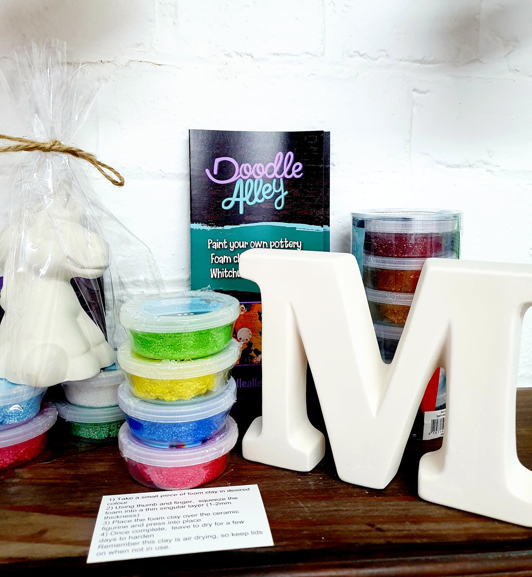 POSTED Foam Clay Kit - letter
