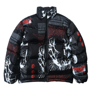 GRAFFITI MEN PUFFER 2021