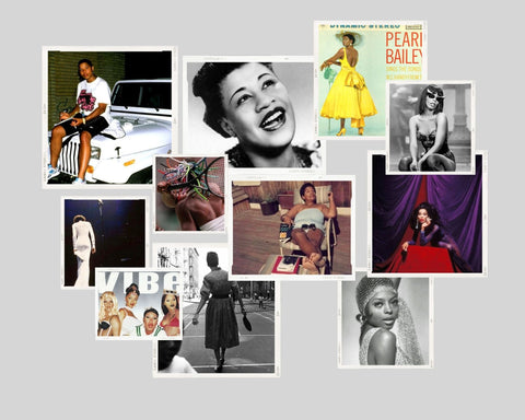 Black Girl Time Collage