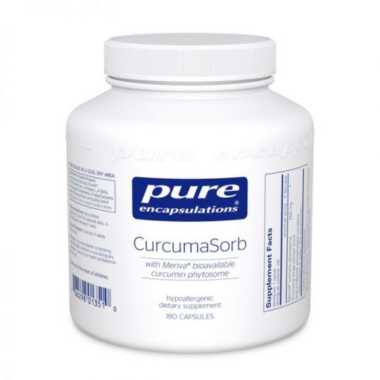 Pure encapsulations CurcumaSorb 180's