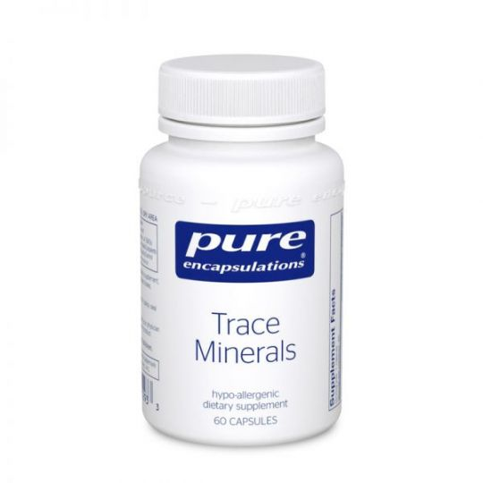 Pure Encapsulations Trace Minerals 60s