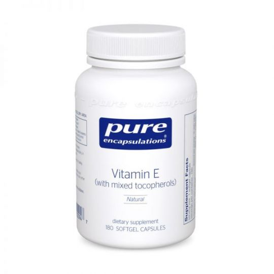 Vitamin E (with mixed tocopherols) - 90 caps