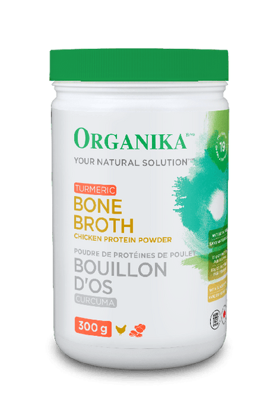 Chicken Bone Broth Powder with Turmeric and Black Pepper (300g)