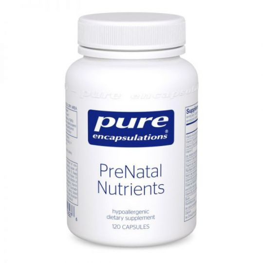 Pure Encapsulations PreNatal Nutrients (120 caps)