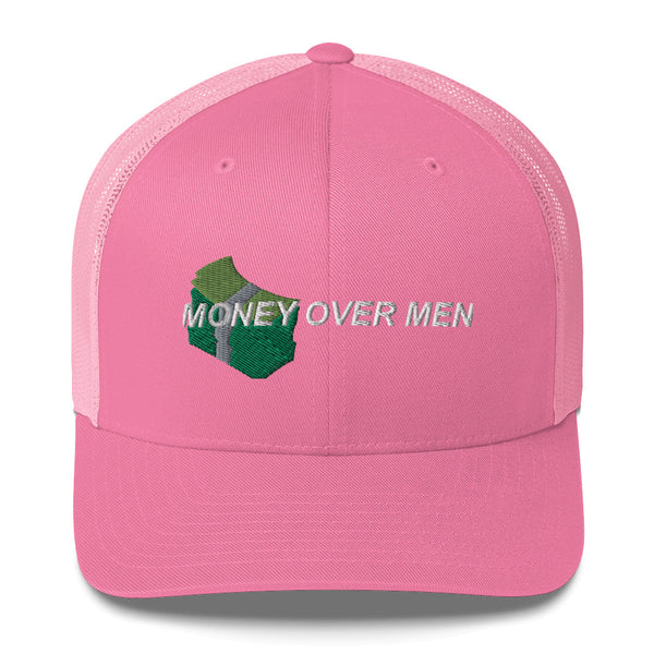 Money Over Men Women's Trucker Cap