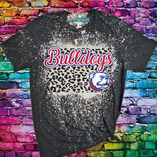 Louisiana Tech Bulldogs Bleached T-Shirt