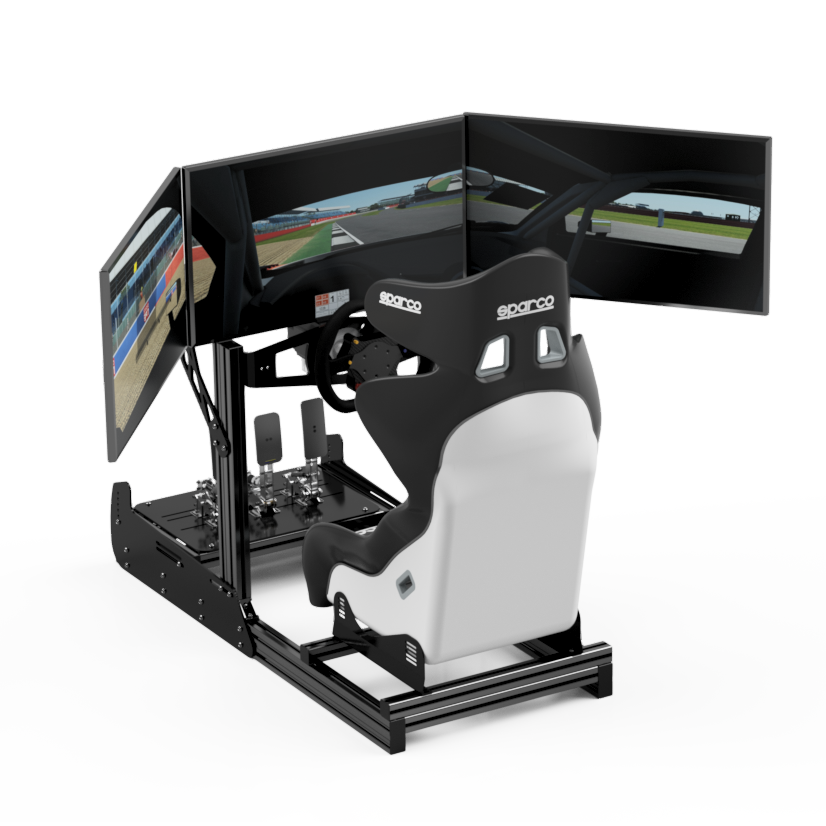 21R Complete Simulator With Triple Monitors