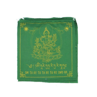 prayer flags green tara