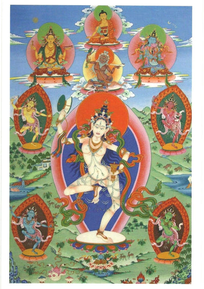 Machig Labdron thangka
