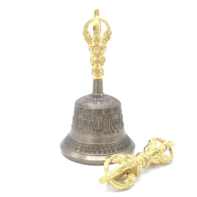 Buddhist Bell and Dorje, Bell and Vajra