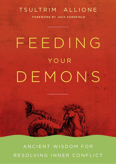 Feeding Your Demons Book Lama Tsultrim Allione