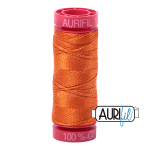 Aurifil 12 wt. 2235 in Orange