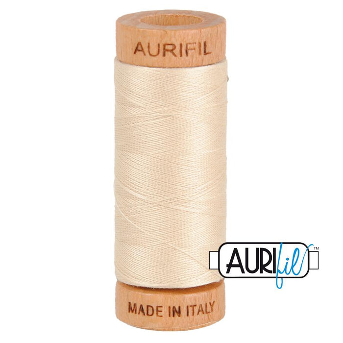 Aurifil 80 wt. 2310 in Light Beige