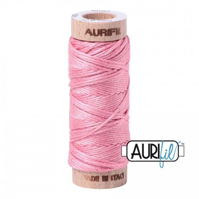 Aurifil Floss 2425 in Bright Pink
