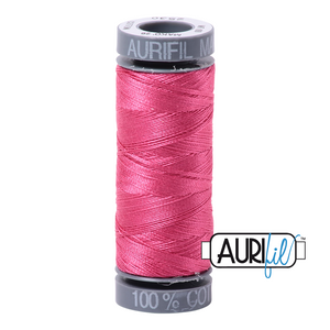 Aurifil 28 wt. 2530 in Blossom Pink