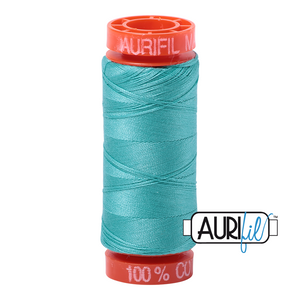 Aurifil 50 wt. 1148 in Small, Light Jade