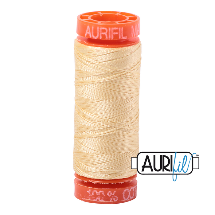 Aurifil 50 wt. 2105 in Small Champagne