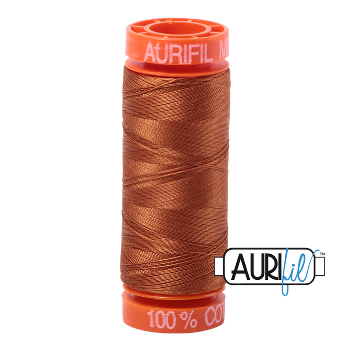 Aurifil 50 wt. 2155 in Small Cinnamon