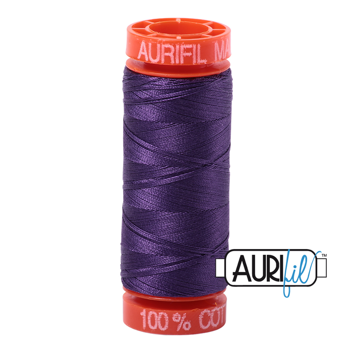 Aurifil 50 wt. 4225 in Small Eggplant