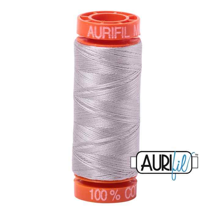 Aurifil 50 wt. 6727 in Small Xanadu