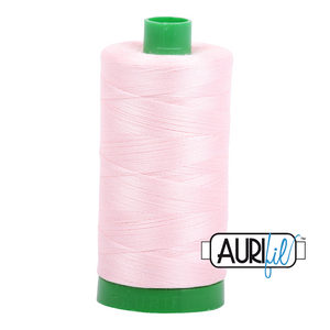 Aurifil 40 wt. 2410 in Pale Pink