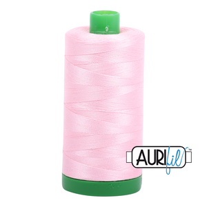 Aurifil 40 wt. 2423 in Baby Pink
