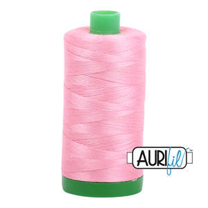 Aurifil 40 wt. 2425 in Bright Pink