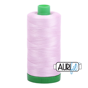 Aurifil 40 wt. 2510 in Light Lilac