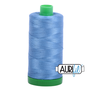 Aurifil 40 wt. 2725 in Light Wedgewood