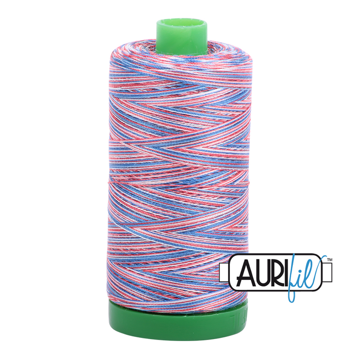 Aurifil 40 wt. 3852 in Liberty