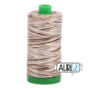 Aurifil 40 wt. 4667 in Nutty Nougat