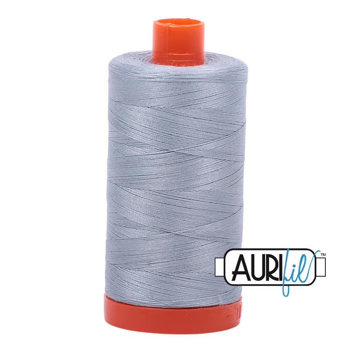 Aurifil 50 wt. 2612 in Large Artic Sky