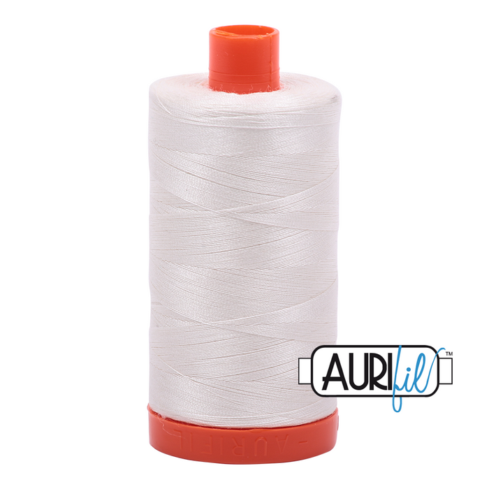 Aurifil 50 wt. 6722 in Large Sea Biscuit
