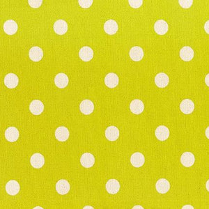 Sevenberry Canvas - Dots in Lime