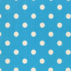 Sevenberry Canvas - Dots in Blue