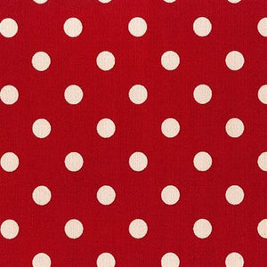 Sevenberry Canvas - Dots in Red