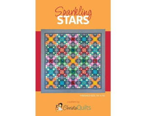 Sparkling Stars Paper Quilt Pattern