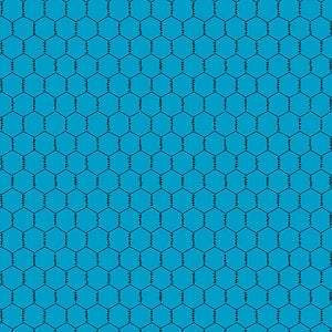 Chicken Wire - Teal
