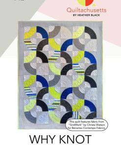 Why Knot Paper Quilt Pattern