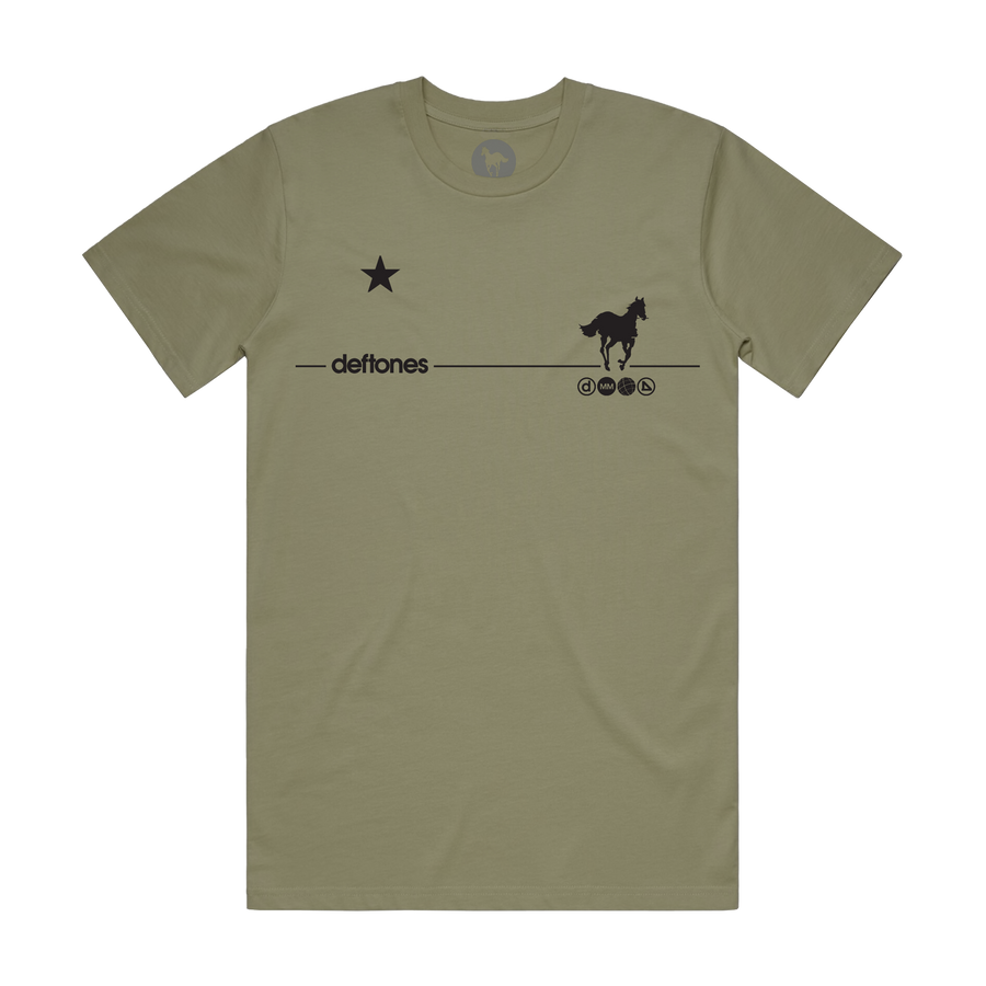 Black Stallion // Olive T-Shirt (Olive)
