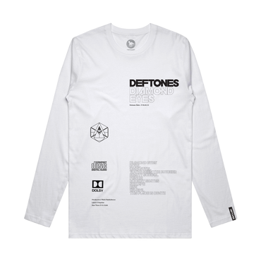 Diamond Eyes X Longsleeve (White)