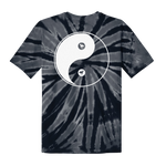 Black Stallion // Yin Yang Tie Dye T-Shirt (Black)