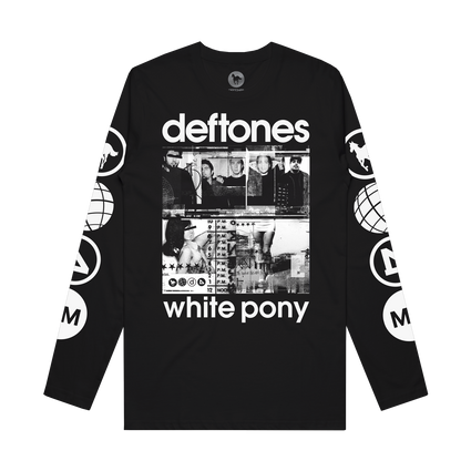 White Pony 20th Anniversary Longsleeve (Black)