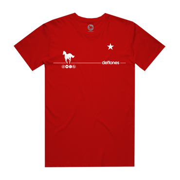 White Pony 20th Anniversary T-Shirt (Red)