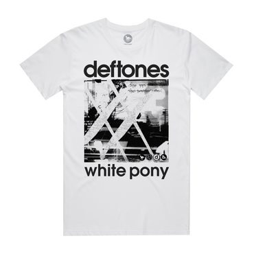 White Pony 20th Anniversary T-Shirt (White)