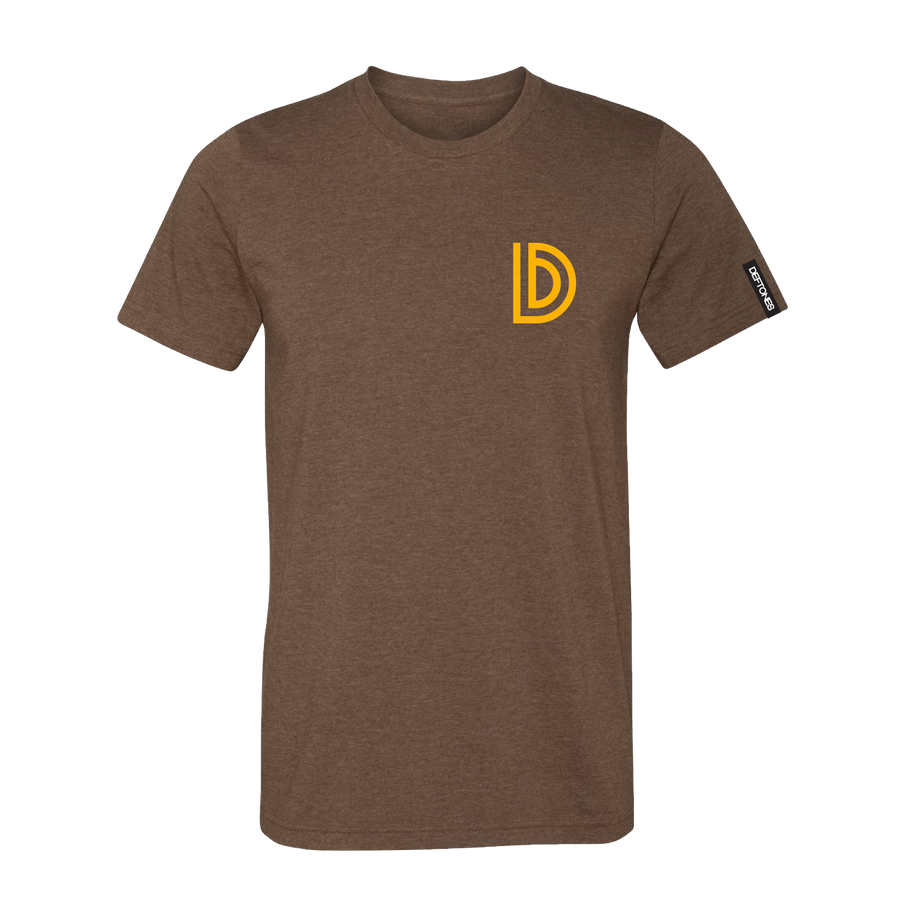 Capital D T-Shirt (Heather Brown)